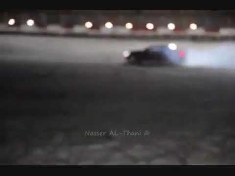 أقوى وأغـلى استعراض في قطر Most expensive drifting in Qatar SLR C63 LP670 SV