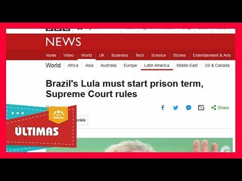 Imprensa internacional repercute decisão do STF de rejeitar habeas corpus a Lula - Notícias 24/7