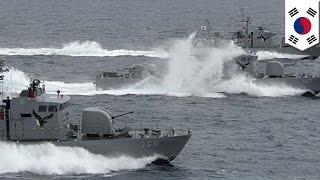 South Korea vs North Korea: vessels exchange fire near disputed sea border