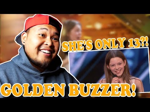 Xxx Mp4 13 Year Old Courtney Hadwin Earns Golden Buzzer America S Got Talent 2018 REACTION 3gp Sex