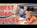 ULTIMATE DAD HACKS WHILE MOM IS AWAY!!