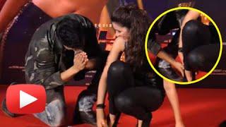 Varun Dhawan TOUCHES Parineeti Chopra's Feet