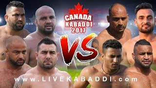 BEST MATCH - International Kabaddi Club Vs. Metro Kabaddi Club - 2017 Canada Kabaddi