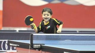 قصة أصغر لاعب تنس طاولة في العالم يوسف دوفش - اورينت نيوز