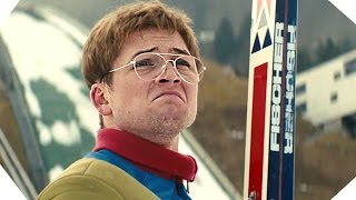 EDDIE THE EAGLE Movie Clips Compilation (Hugh Jackman - Taron Egerton)