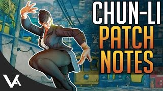 SFV - Chun-Li New April Update Patch Notes Explained! Changes For Street Fighter 5 Season 2
