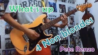What's Up - 4 Non blondes(Guitar Cover)with Chords and Tab