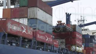 Container Ship HD Footage