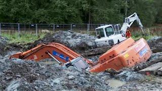 Two Excavator in Deep Shit - Heavy Recovery - Terribärgarn, Sweden