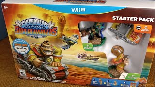 Skylanders SuperChargers Wii U Unboxing