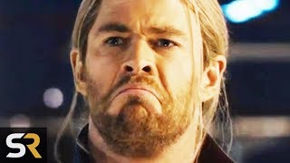 10 Funny Bloopers From Serious Marvel Movie Scenes