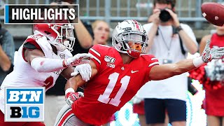 Highlights: Buckeyes Blitz RedHawks with 76 Points | Miami (OH) vs. Ohio State | Sept. 21, 2019