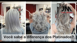 Mechas Platinadas Salão JM Hair Design