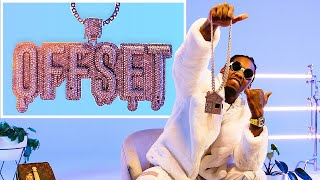 Offset Shows Off His Insane Jewelry Collection | GQ