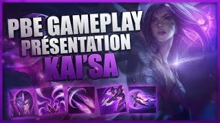 KAI'SA GAMEPLAY - NOUVEAU CHAMPION LEAGUE OF LEGENDS