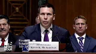 WATCH LIVE: Customs and Border Protection Commissioner Kevin McAleenan testifies before Senate