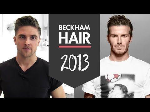 David Beckham Hairstyle H&M 2013 How To Style Inspiration By Vilain