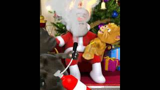 Santa is getting horny and pedo