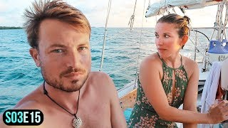 Sailing Decisions that Risk EVERYTHING | Sailing to Northeast Sapodilla Caye Belize | S03E15
