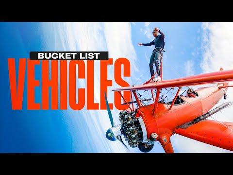 Bucket List Walking on a Plane