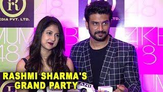 Sharad Kelkar With Wife Keerti Gaekwad At Rashmi Sharma