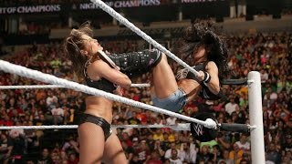 Aj Lee vs. Nikki Bella vs. Paige - Divas Championship: Night Of Champions, September 21, 2014