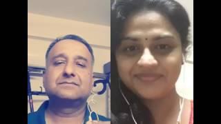 Malarae mounamaa cover karaoke  with Ms.VidhuVivek