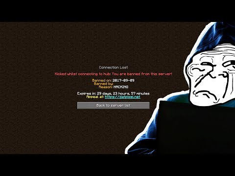 HUGE YOUTUBER GETS CAUGHT HACKING Minecraft Trolling