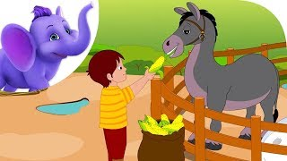 If I had a Donkey - Nursery Rhyme with Lyrics & Karaoke