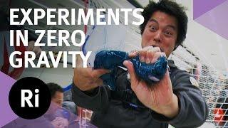 Weightless Water - Experiments In 'Zero Gravity'