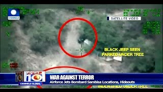 News@10: Air Force Jets Bombard Boko Haram Logistics Base In Sambisa 21/05/17 Pt.1