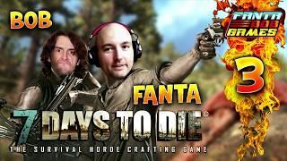 7Days To Die - Ep.3 : Demain dès l'Aube - Fanta et Bob COOP Let's Play Survie Zombie