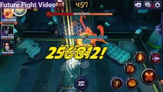 Marvel Future Fight - Dormammu Gameplay (Build/VS/CO-OP/Build Costs in Description)