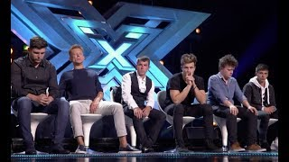 3 Singers Fight For Their Seat In A Sing Off | Six Chair Challenge | The X Factor UK 2017