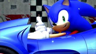 Sonic & Sega All-Stars Racing - Every Grand Prix (X360) [1080p]