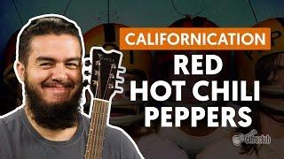 Californication - Red Hot Chili Peppers (aula de violão completa)