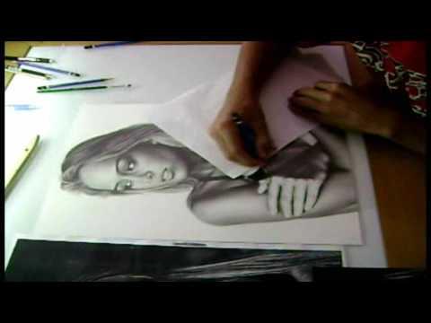 Desenho feito por Samuel Torres Studio Charles Laveso