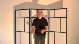 tutorial apprendre à jongler avec 3 balles : la cascade