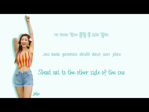 Download TWICE - Dance The Night Away Lyrics (Han|Rom|Eng) Color Coded free