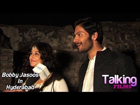 Vidya Balan Ali Fazal Exclusive Interview On Bobby Jasoos In Hyderabad Part 2