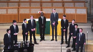OUNDLE SCHOOL PART SONG 2018