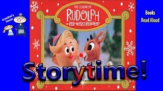 THE LEGEND OF RUDOLPH THE RED NOSED REINDEER Read Aloud ~ Christmas Stories Read Along Books
