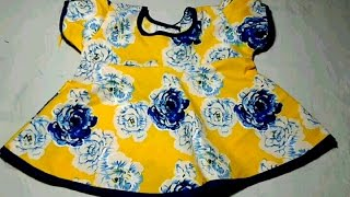 umbrella frock cutting and stitching in hindi