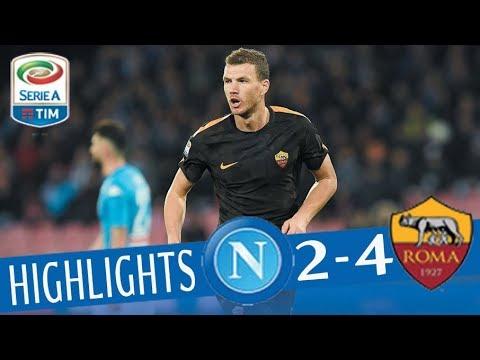 Napoli - Roma 2-4 - Highlights - Giornata 27 - Serie A TIM 2017/18