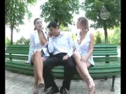Funny Large Cleavage Shows Breasts.flv