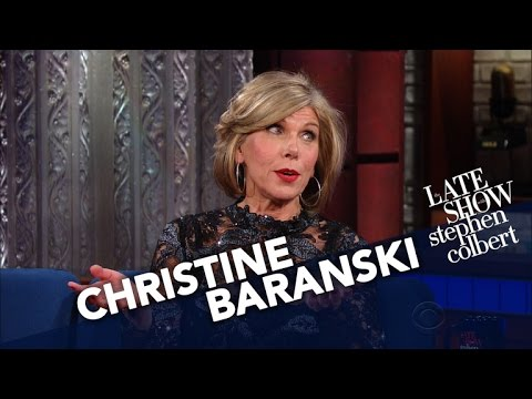Christine Baranski s Easiest Role Ever Acting Displeased With Trump.