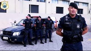 Patrulhamento com a equipe tática da Guarda Municipal de São José dos Pinhais