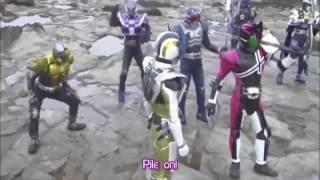 Kamen Rider Extra Form Henshin
