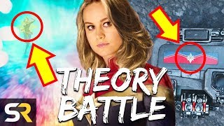 Is Captain Marvel Stuck In Traffic Or Hiding In The Quantum Realm? THEORY BATTLE