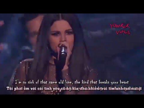 Vietsub Selena Gomez - Same Old Love Live AMA's 2015